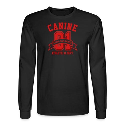 Canine Athletic Dept. - Men's Long Sleeve T-Shirt