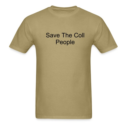 Save Coll People - Men's T-Shirt