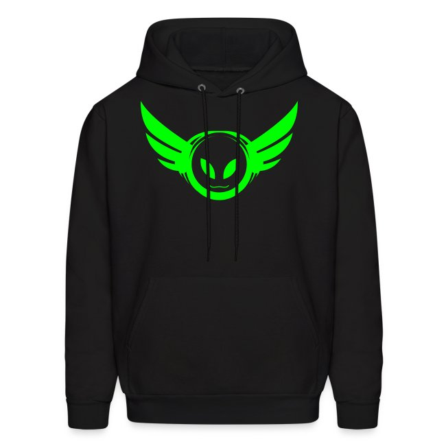 Betamorph Recordings Alien Logo Hoodie