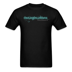 imagination - The Art of Making Stuff Up! (Black) - Men's T-Shirt