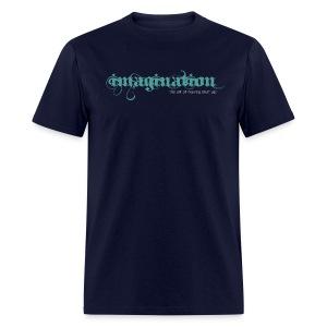 imagination - The Art of Making Stuff Up! (Navy) - Men's T-Shirt