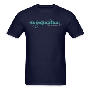 imagination - The Art of Making Stuff Up! (Navy) - Men's T-Shirt