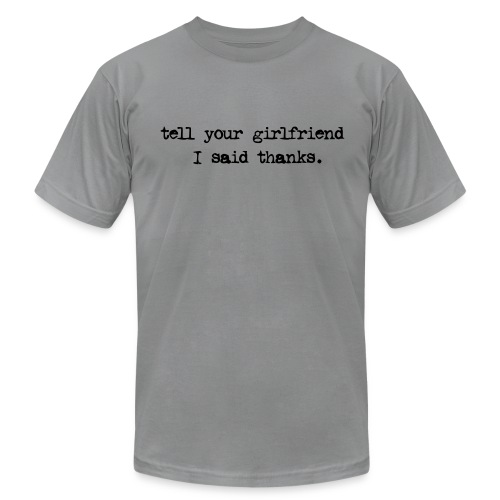 Gray MEN'S shirt - Men's  Jersey T-Shirt