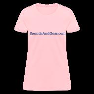 T-Shirts ~ Women's T-Shirt ~ SAG womens tee pink
