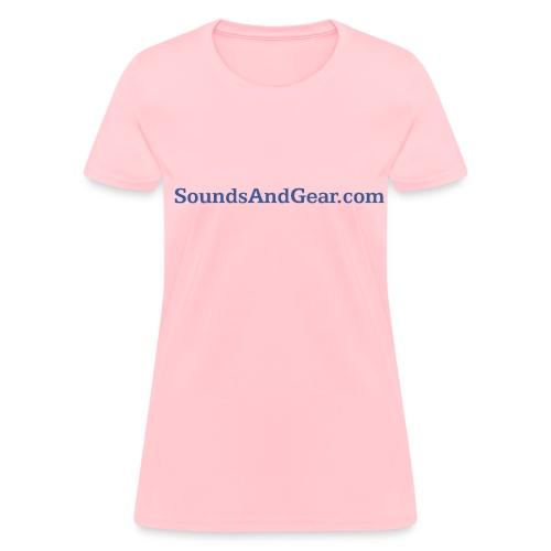 SAG womens tee pink - Women's T-Shirt