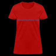 T-Shirts ~ Women's T-Shirt ~ SAG womens tee red