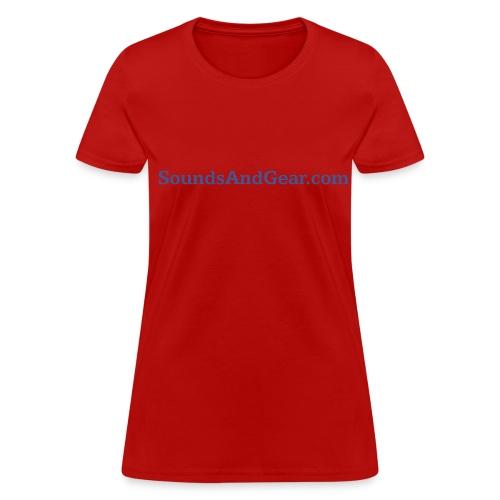 SAG womens tee red - Women's T-Shirt