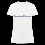 T-Shirts ~ Women's T-Shirt ~ SAG womens tee wht