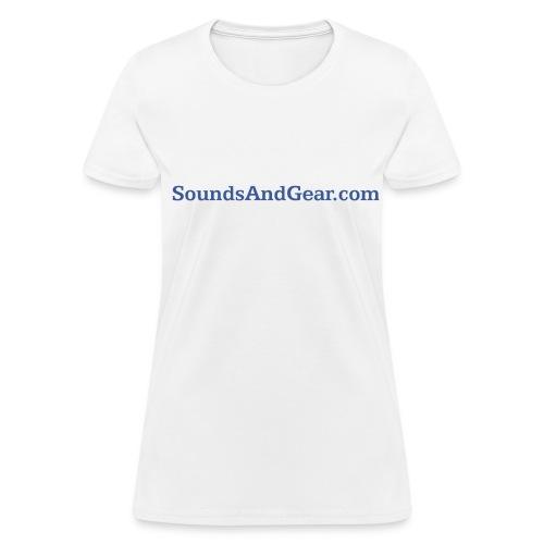 SAG womens tee wht - Women's T-Shirt