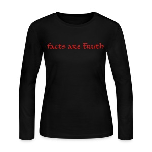 women's long-sleeve T red print - Women's Long Sleeve Jersey T-Shirt