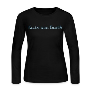 women's long-sleeve T ice blue print - Women's Long Sleeve Jersey T-Shirt