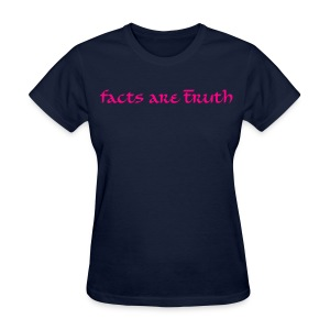 womens standard weight T hot pink print - Women's T-Shirt