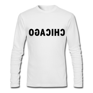 OGACIHC Men's American Apaprel Long Sleeve Tee - Men's Long Sleeve T-Shirt by Next Level