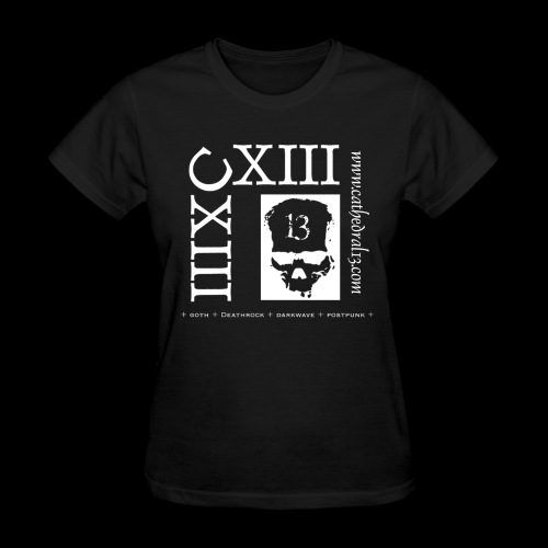 CXIII x 2 skull design - Women's T-Shirt