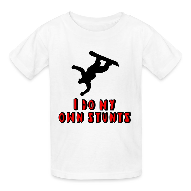 snowboarding i do my own stunts t
