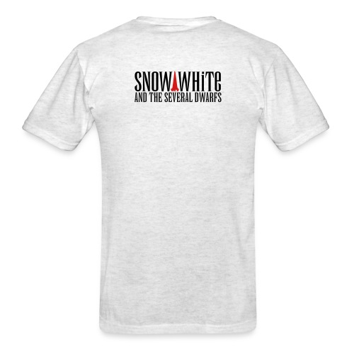 snow_white_logo_bw - Men's T-Shirt