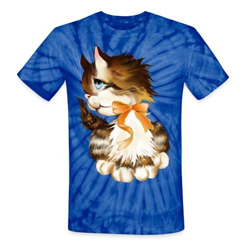 Kitten - Unisex Tie Dye T-Shirt