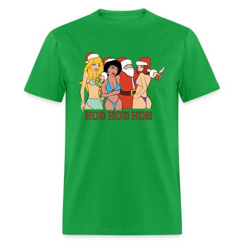 HOE! HOE! HOE! (Men) - Men's T-Shirt