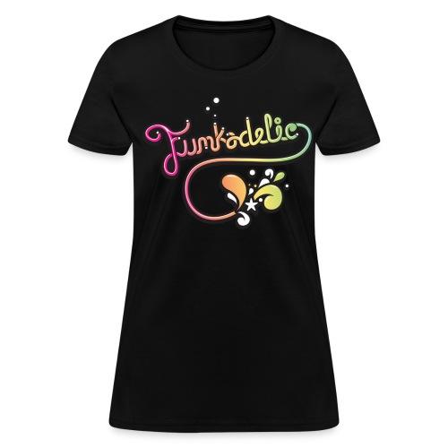 Women's T-Shirt - été,vintage,tshirt woman,tshirt man,tshirt,tee-shirt,tee shirt,tee,t-shirt,t shirt,sweat,summer,polo,musique funk,music funk,funkytshirt,funky fashion,funky,funk,fun,fashion,delire,club,boutique de tee,boutique,afro,80's,70's
