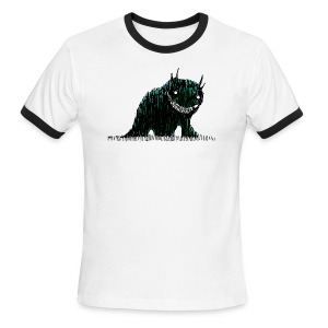 Monster (light ringer) - Men's Ringer T-Shirt