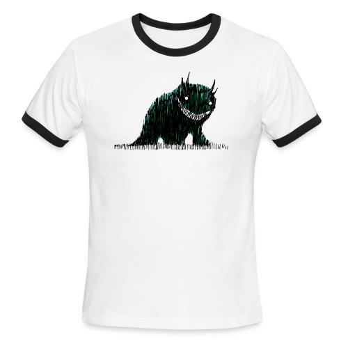 Monster (light ringer) - Men's Ringer T-Shirt