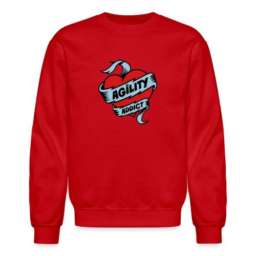 Dog Agility Addict - Crewneck Sweatshirt