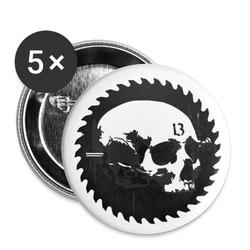 skullrazornonvector - Small Buttons