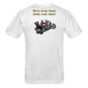Men's T Back WWheelie crazy - Men's T-Shirt