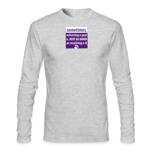 Achieving A Goal - Men's Long Sleeve T-Shirt by Next Level