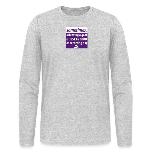 Achieving A Goal - Men's Long Sleeve T-Shirt by Next Level