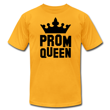 PROM QUEEN with princess queen crown T-Shirts