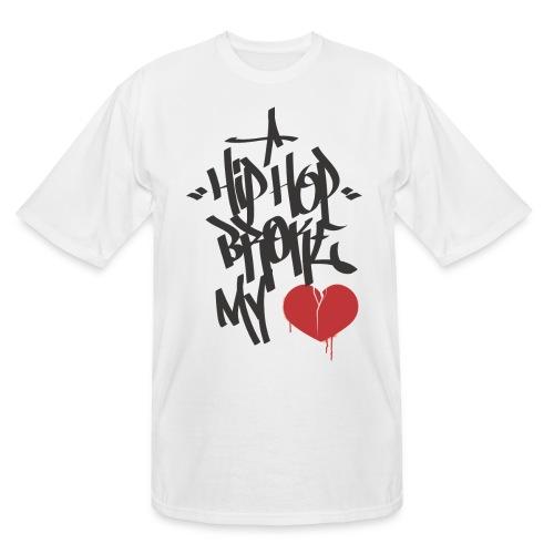 Hip Hop Broke My Heart - Men's Tall T-Shirt