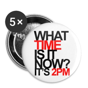[2PM] What Time is it Now? - Small Buttons