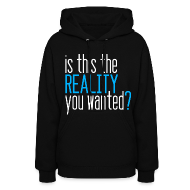 Hoodies ~ Women's Hoodie ~ [SHINee] Reality? (SHINee on Back)