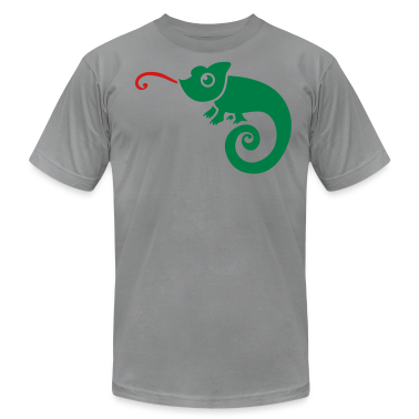 CUTE little chameleon tongue licking  T-Shirts