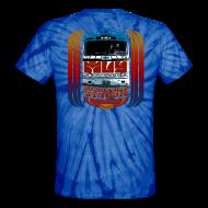 T-Shirts ~ Unisex Tie Dye T-Shirt ~ Shakedown Stream Bus -- Tie-Dye version