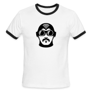 T-Shirts ~ Men's Ringer T-Shirt ~ American Apparel Ringer Superhero T-Shirt