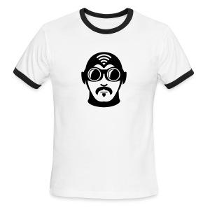 American Apparel Ringer Superhero T-Shirt - Men's Ringer T-Shirt