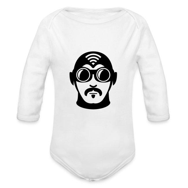Long Sleeve Superhero Baby