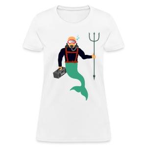 Scuba Merman - Women's T-Shirt