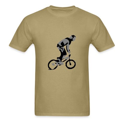 BMX Bike T-shirt - City Rider - Men's T-Shirt