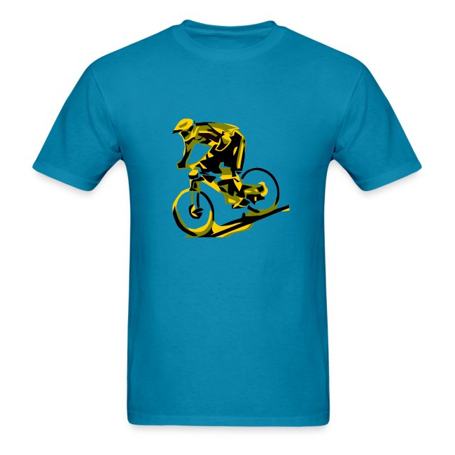 MTB Shirt - DH Freak - Mountain Bike Rider - Red