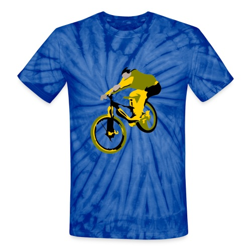 Ollie BMX Trick T-shirt - Unisex Tie Dye T-Shirt