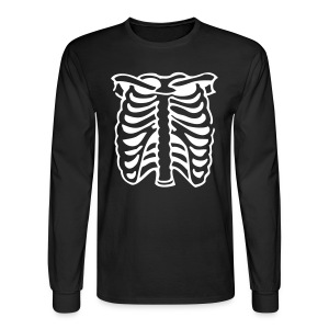 Skeleton Hoodie - Men's Long Sleeve T-Shirt