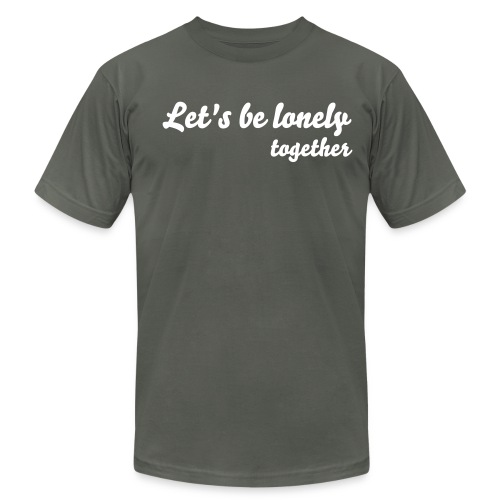 LONELY TOGETHER - Men's Fine Jersey T-Shirt