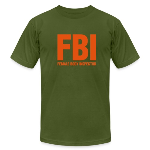 FBI t-shirt - Men's Fine Jersey T-Shirt