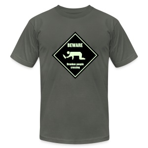 Drunken Crossing - Men's Fine Jersey T-Shirt