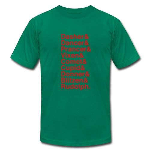 Christmas Reindeer - Men's Fine Jersey T-Shirt