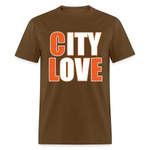 City Love - Browns  - Men's T-Shirt