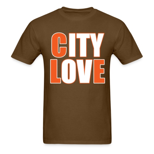 City Love - Browns  - Men's T-Shirt